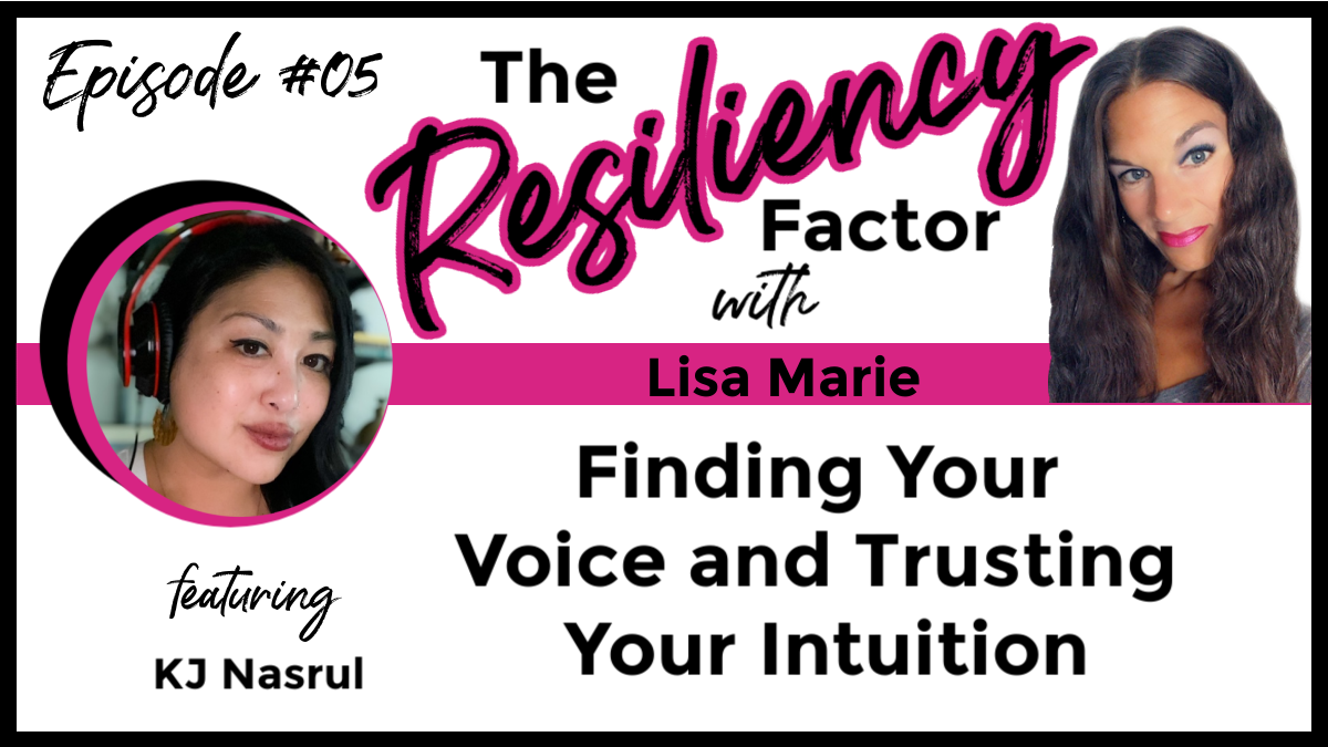 RF05 - Finding Your Voice and Trusting Your Intuition